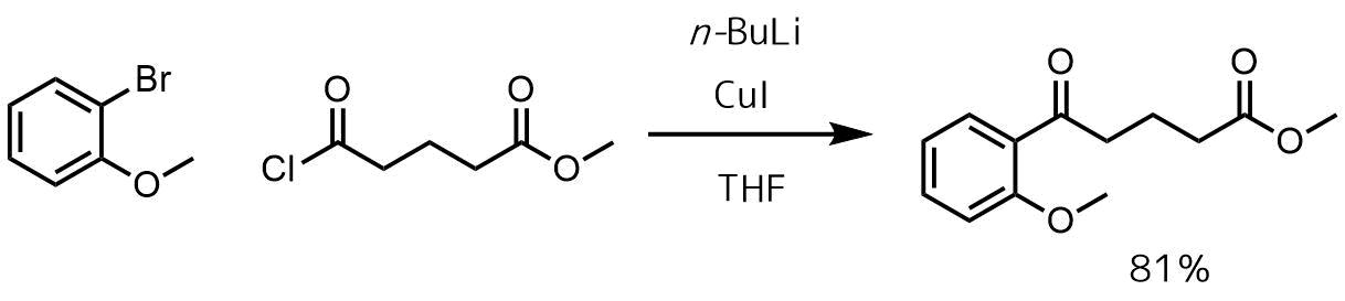 ギルマン試薬によるケトン合成2