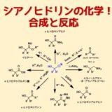 シアノヒドリンの化学合成と反応