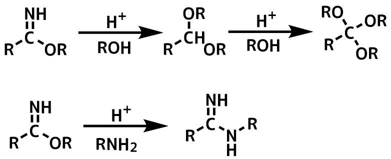ピナー塩の反応
