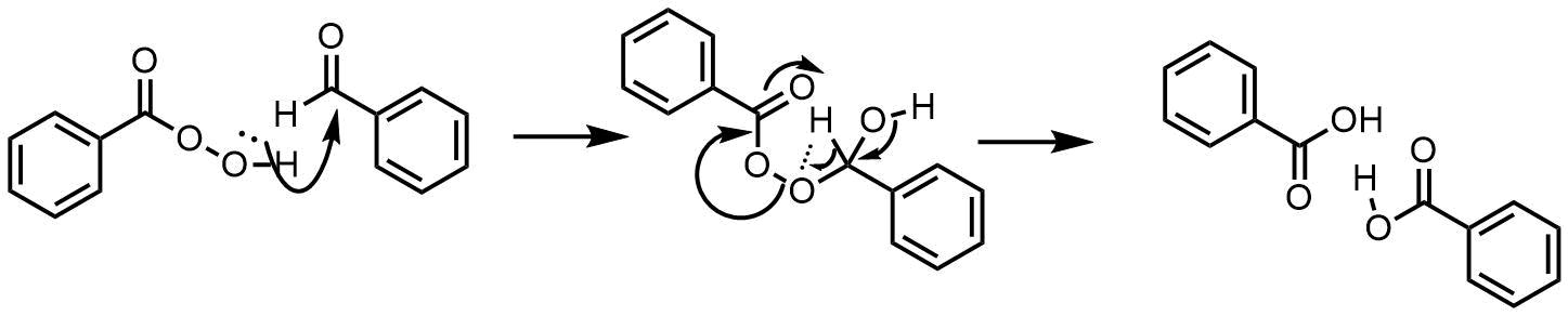 ベイヤービリガー型の酸化機構