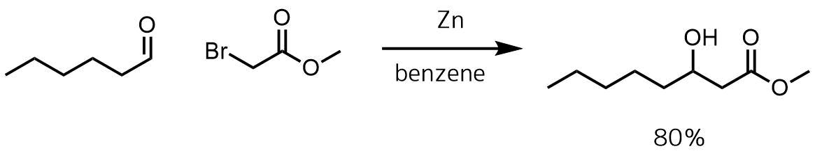 レフォルマトスキ反応例