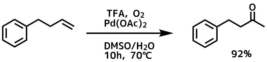 ワッカー酸化例