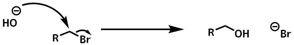塩基性に弱い官能塩基性に弱い官能基