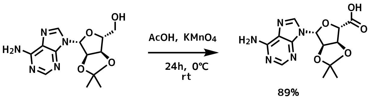 過マンガン酸カリウムを使ったアルコールの酸化