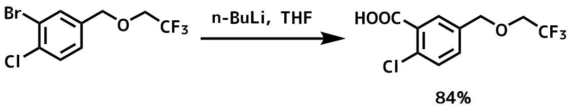 芳香族ブロモ基をカルボン酸に