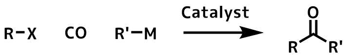 触媒的カルボニルカップリングの概要