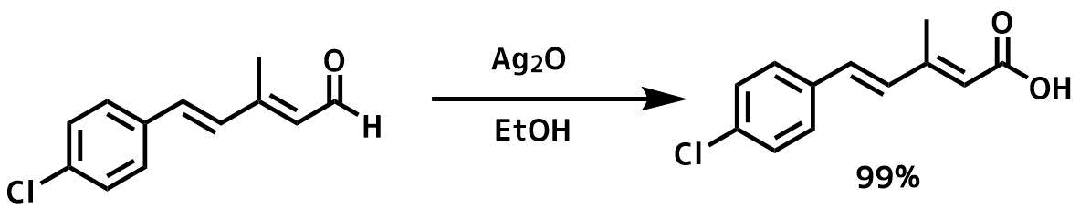 酸化銀を使ったアルデヒドの酸化反応2