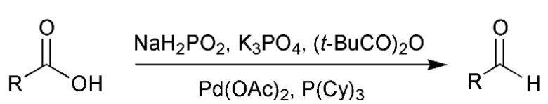 Goobenらのカルボン酸の直接部分還元法