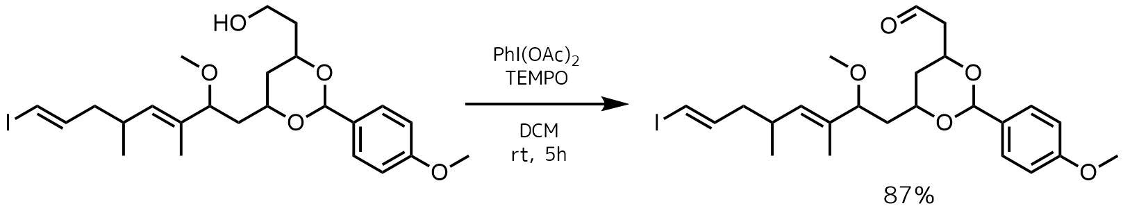 TEMPO酸化ーPh(OAc)I