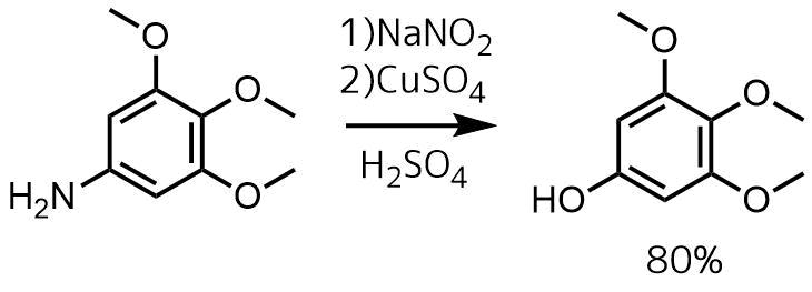 芳香族アミンからフェノールの合成反応例2