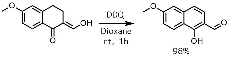 芳香族化によるフェノール合成反応例1
