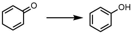芳香族化によるフェノール合成