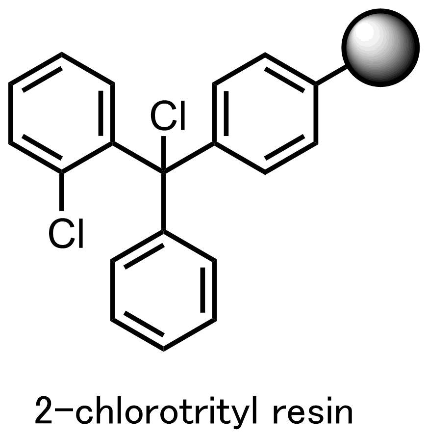 2-chlorotrityl resin