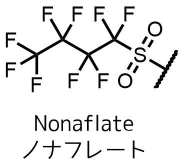 ノナフレートの構造