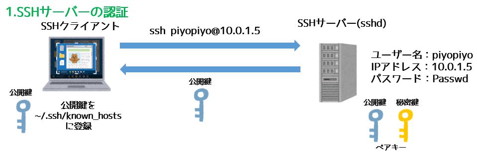SSHサーバーの暗号化
