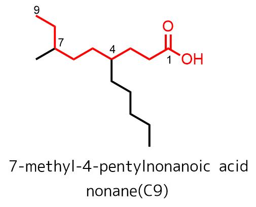 カルボン酸が優先的に主鎖