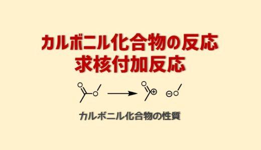 カルボニル化合物の反応・求核付加反応